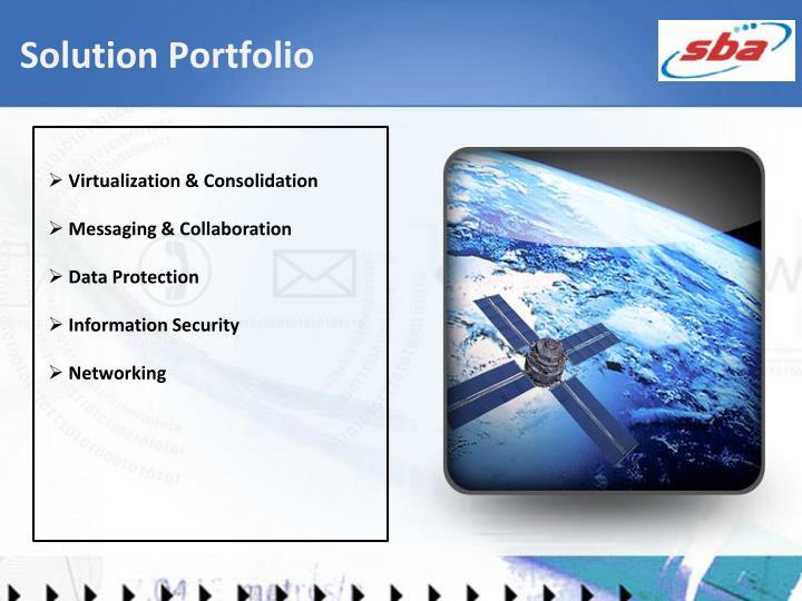 Solution Portfolio