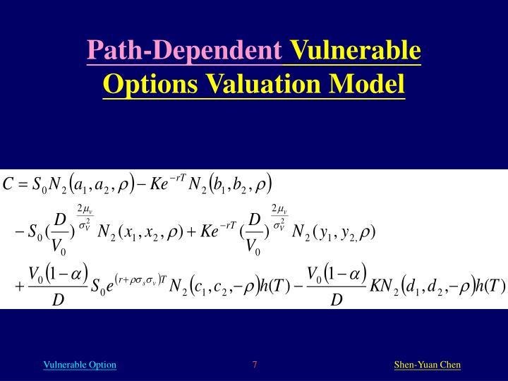 Path-Dependent