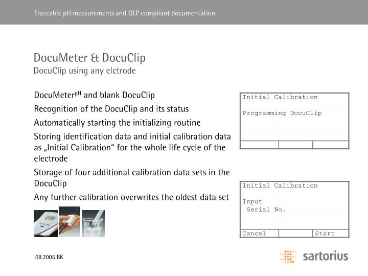 DocuMeter & DocuClip