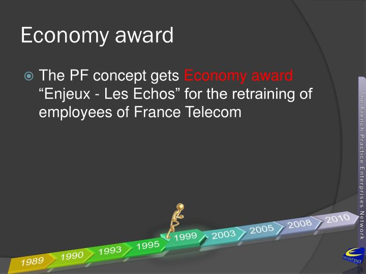 Economy award