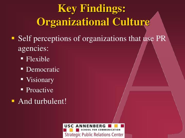 Key Findings: