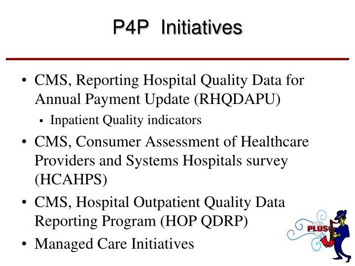 P4P  Initiatives