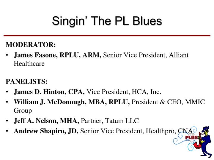 Singin' The PL Blues