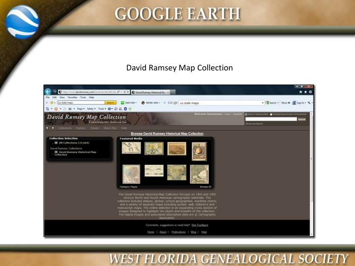 David Ramsey Map Collection