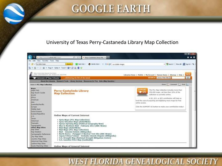 University of Texas Perry-Castaneda Library Map Collection