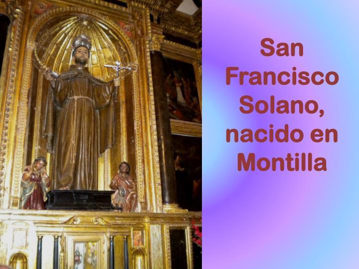 San Francisco Solano,