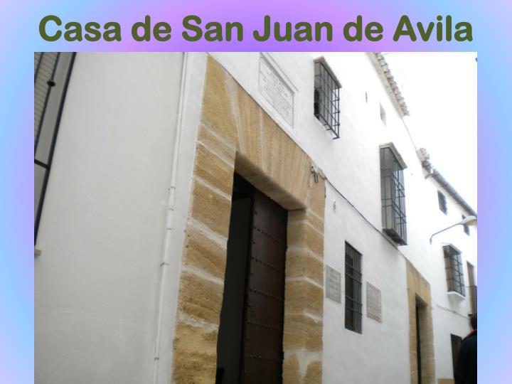 Casa de San Juan de Avila