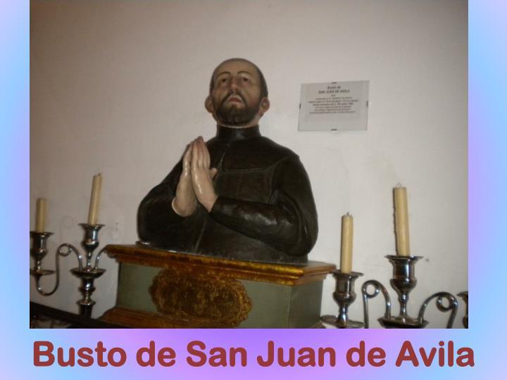 Busto de San Juan de Avila