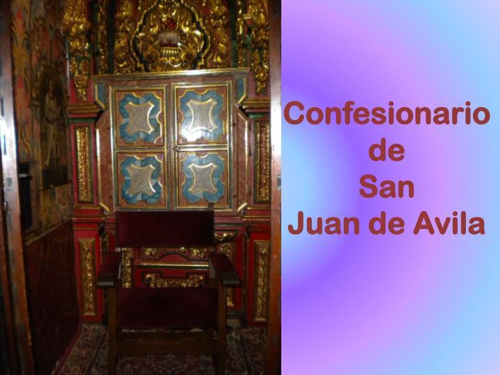 Confesionario de