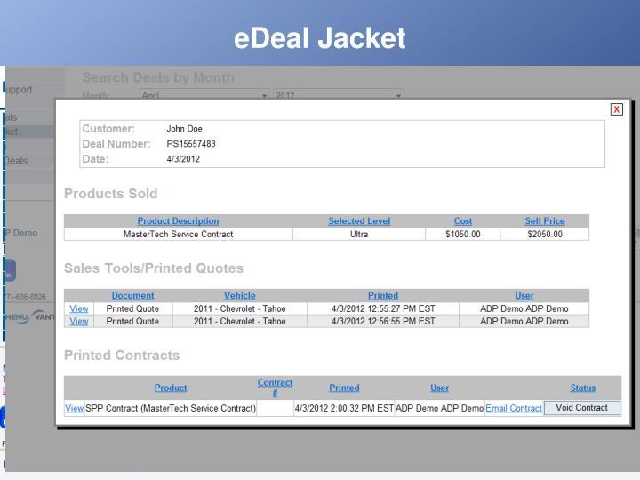eDeal Jacket