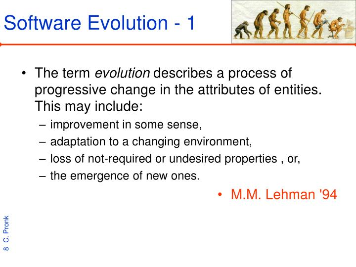 Software Evolution - 1