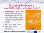 inclusion publications www salto youth net inclusionforall2