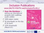 inclusion publications www salto youth net inclusionforall4