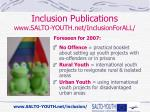 inclusion publications www salto youth net inclusionforall6