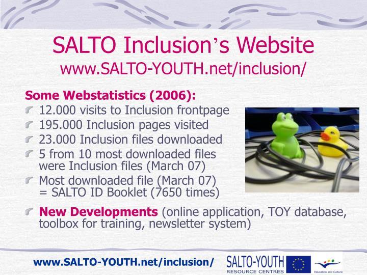 SALTO Inclusion