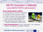 salto inclusion s website www salto youth net inclusion