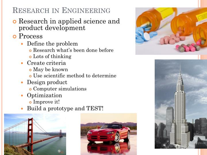 Research in Engineering
