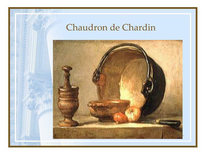 Chaudron de Chardin
