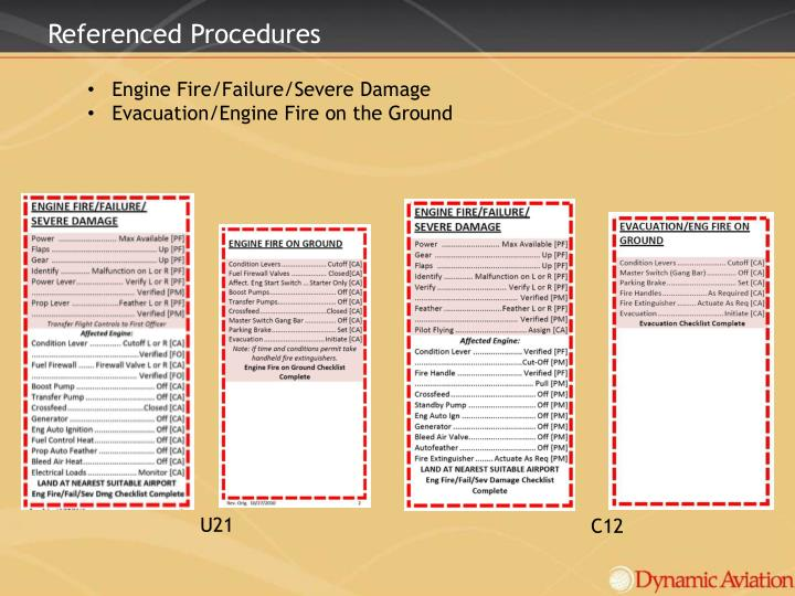 Referenced Procedures
