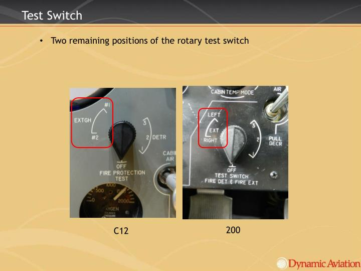 Test Switch