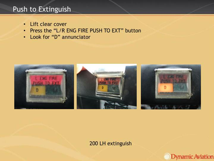 Push to Extinguish