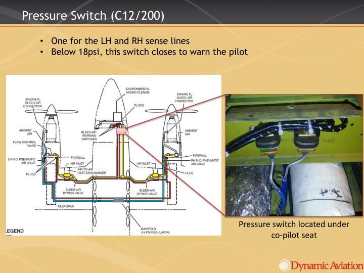 Pressure Switch (C12/200)