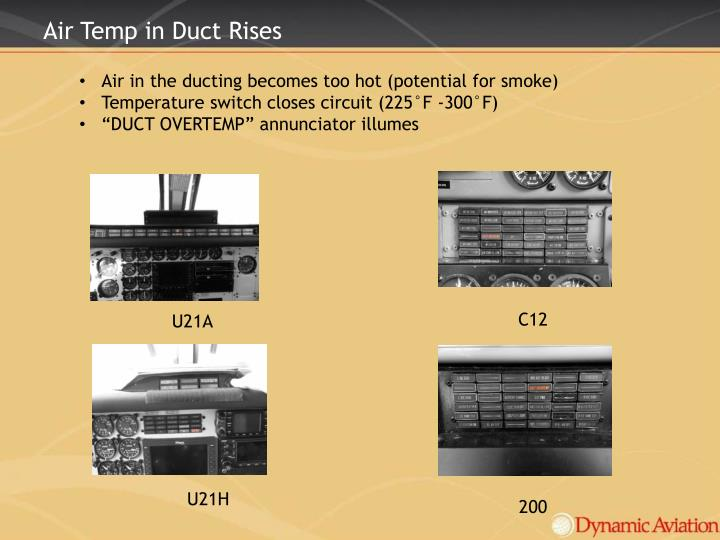 Air Temp in Duct
