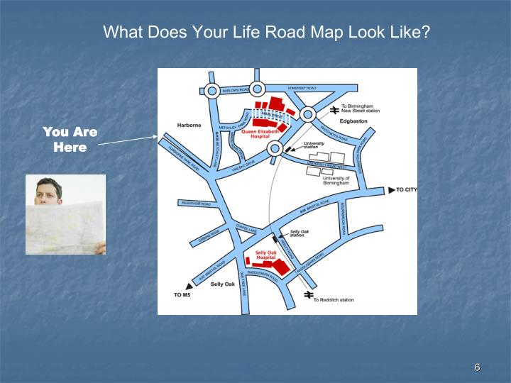 What Does Your Life Road Map Look Like?