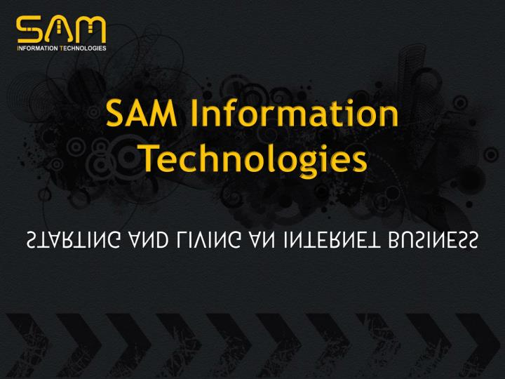 Sam information technologies