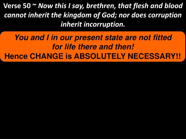 Verse 50 ~