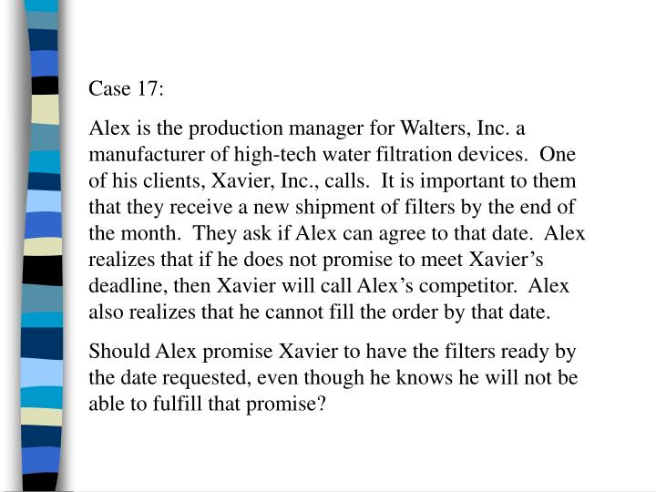 Case 17: