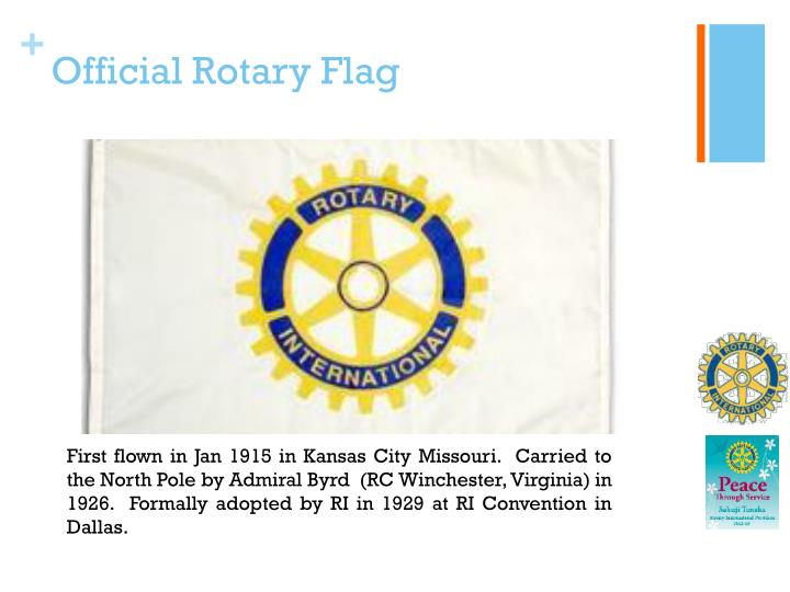 Official Rotary Flag