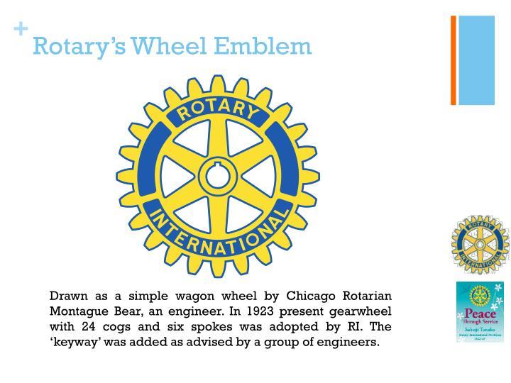 Rotary's Wheel Emblem