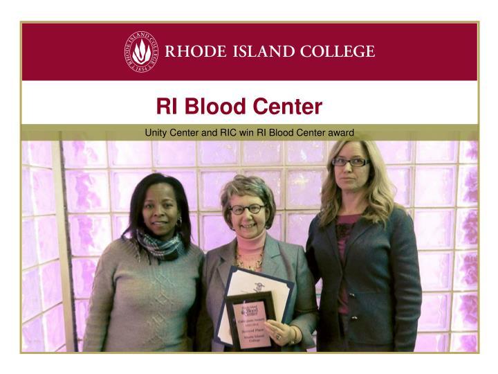 RI Blood Center