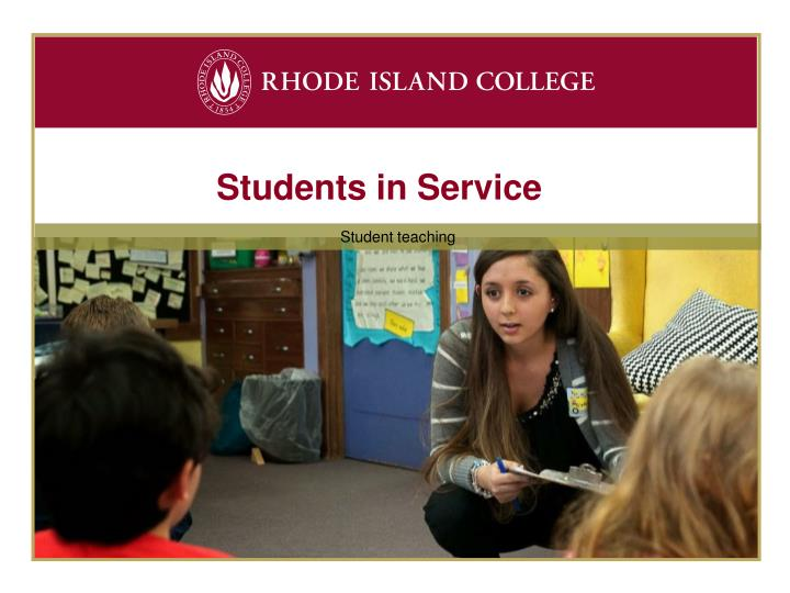 Students in Service