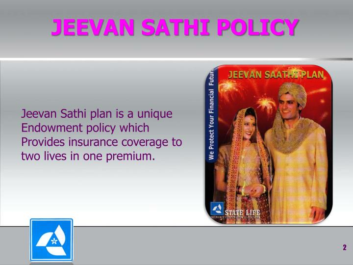 Jeevan sathi policy