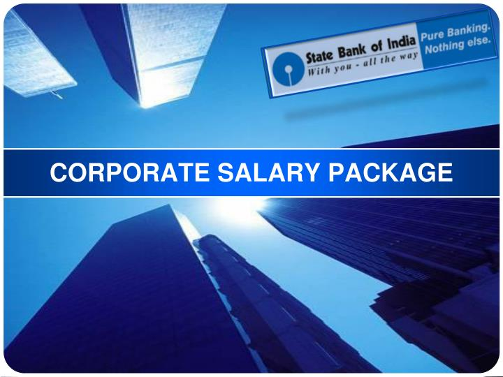 Corporate salary package