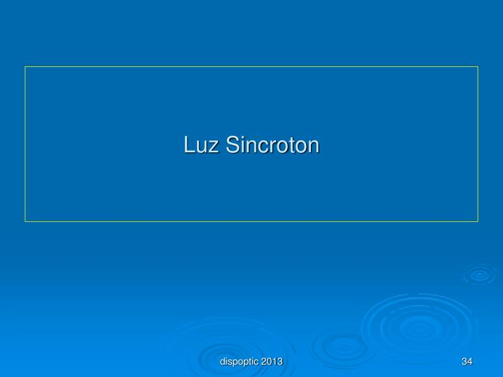 Luz Sincroton