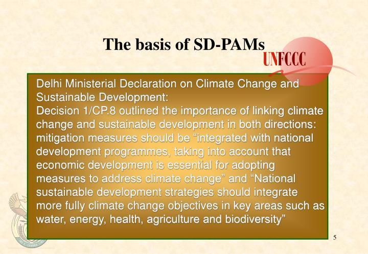 The basis of SD-PAMs