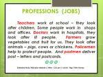 professions jobs