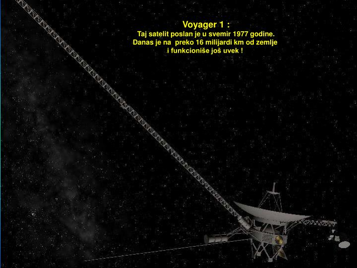 Voyager 1 :