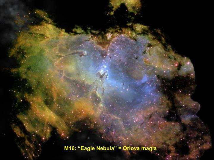 "M16: ""Eagle Nebula"" ="