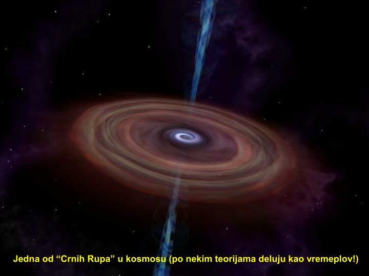 """Jedna od """"Crnih Rupa"""" u kosmosu (po nekim teorijama deluju kao vremeplov!)"""