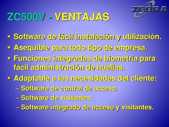 ZC500V -
