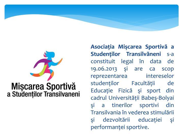 Asociaţia Mişcarea Sportivă a Studenţilor Transilvăneni