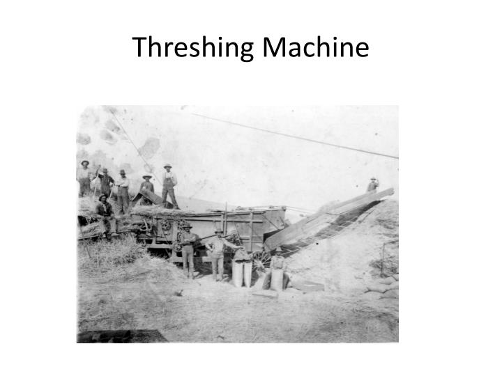 Threshing Machine