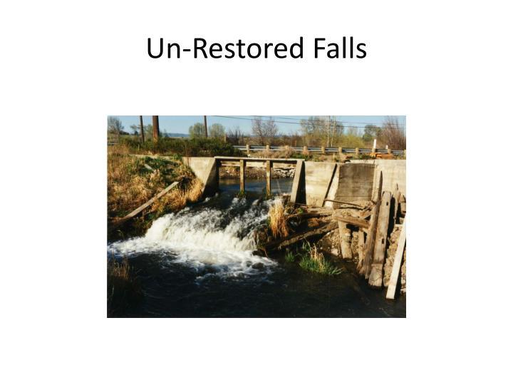 Un-Restored Falls