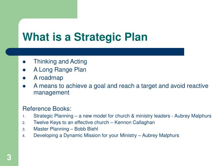 What is a Strategic Plan
