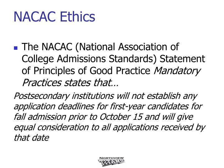 NACAC Ethics
