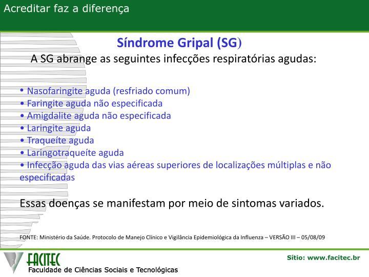 Síndrome Gripal (SG